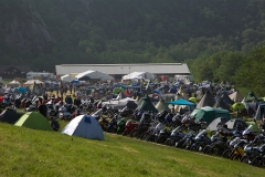 Motorcycle camping. Picture: Hans Vestre.