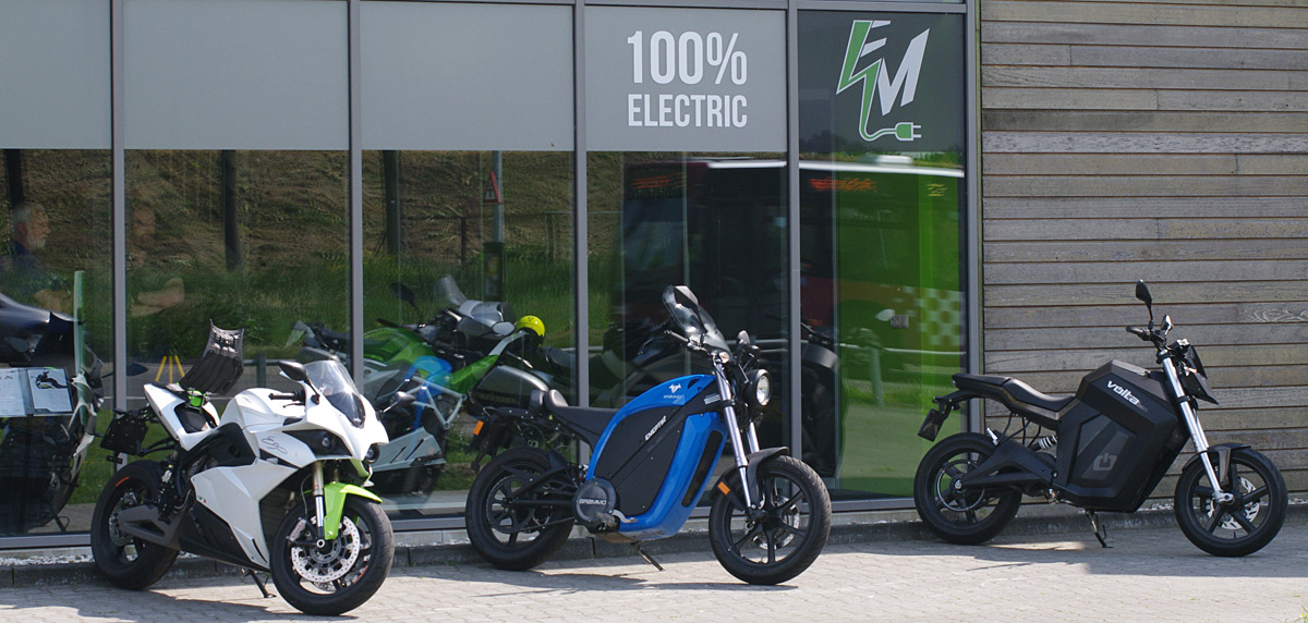 There is an electric bike for almost any kind of motorcyclist.